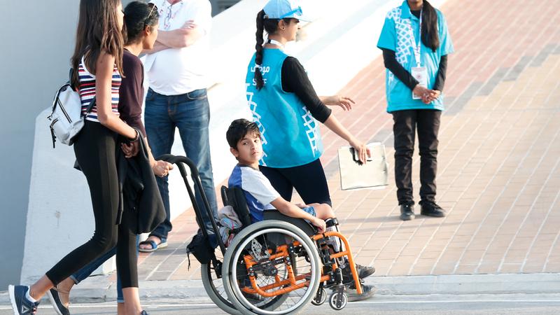 الأولمبياد الخاص للألعاب العالمية يبدأ فعالياته. من المصدر