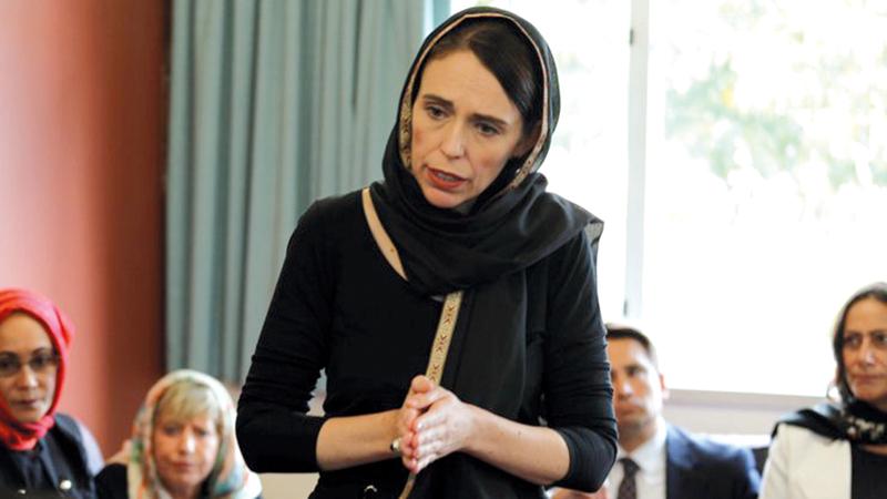 رئيسة وزراء نيوزيلندا غاسيندا أرديرن تتعهد بإصلاح قوانين الأسلحة.  رويترز