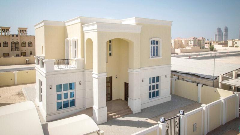 مساكن مجمع بطين السمر برأس الخيمة. من المصدر