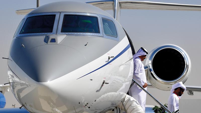 شركات الطيران الخاص تتطلع إلى الاستفادة من الفرص  التي يوفرها «إكسبو 2020 دبي». تصوير: باتريك كاستيلو