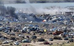 الصورة: «قسد» تسيطر على مواقع لـ «داعش» في الباغوز وتحاصر «التنظيم» من 3 جهات