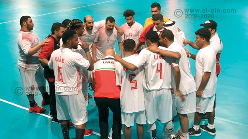 منتخب كرة اليد فاز على الدنمارك «11-9» في الأولمبياد الخاص. من المصدر