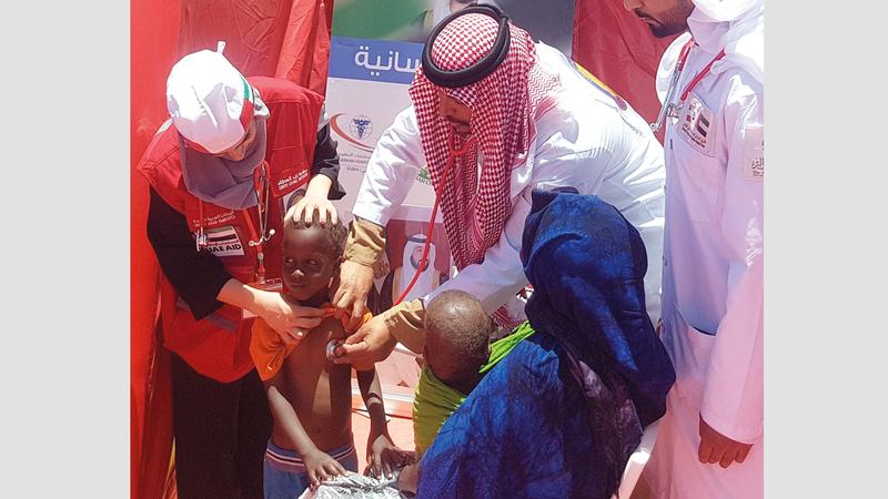 «زايد العطاء» دعمت ملايين المتضررين من الكوارث الطبيعية والفقراء.  من المصدر