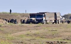 الصورة: «قسد»: عمليات تمشيط وحالة من الهدوء في الباغوز