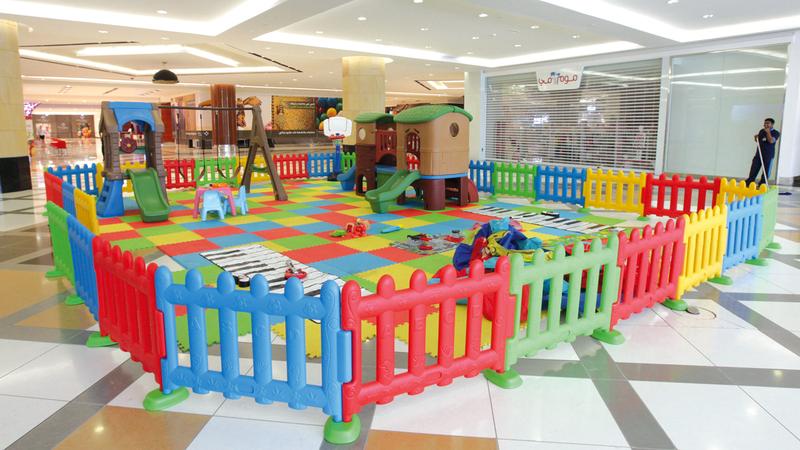 244 حضانة في أبوظبي تستضيف أكثر من 10 آلاف طفل.  أرشيفية