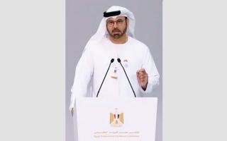 الصورة: القرقاوي: الشراكة بين الإمارات ومصر نموذج للتعاون المثمر
