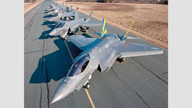 تضحية أنقرة بأسطول المقاتلات «إف-35» المكون من 100 طائرة تُشكل خسارة فادحة يصعب تعويضها.  أرشيفية
