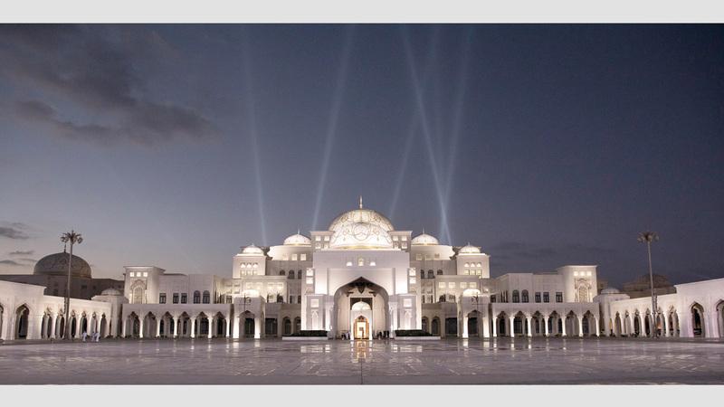 قصر الوطن.. صرح حضاري بتصميم معماري فريد من نوعه. من المصدر