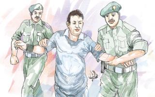 الصورة: حبس لاعب كرة اعتدى على شرطي