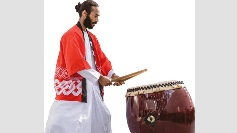 تريم محمد الكثيري:  «نحاول نشر فكرة أن  الموسيقى ليست  ترفيهاً فقط، بل هي  جزء من ثقافة  وحضارة البلد الذي  تنتمي إليه».