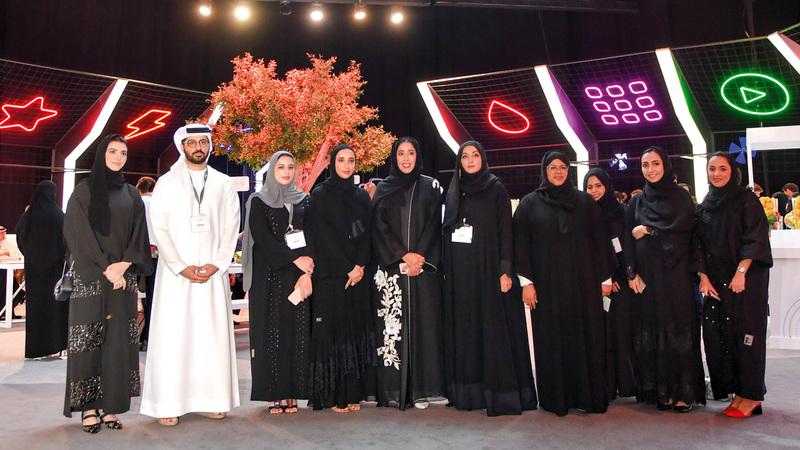 المشاركة تندرج ضمن مبادرة «بكل فخر من دبي» الهادفة إلى دعم رواد الأعمال. من المصدر