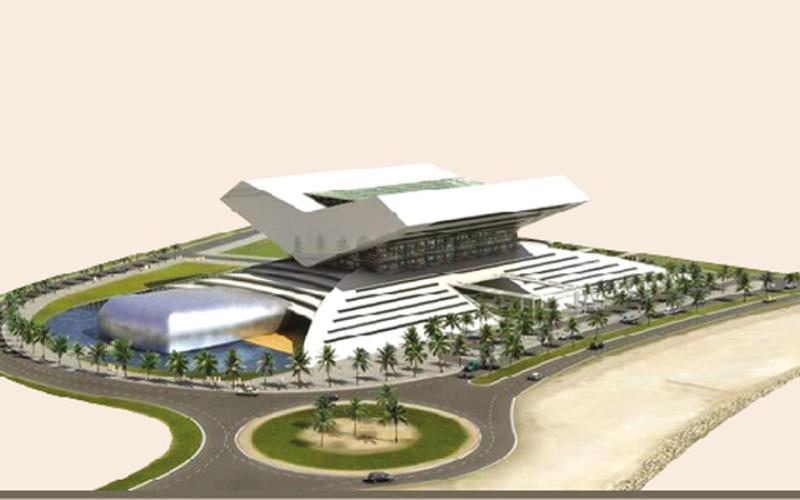 الصورة: ( بالغرافيك ) ...مكتبة محمد بن راشد مركز إشعاع ثقافي  ووجهة سياحية جديدة في دبي
