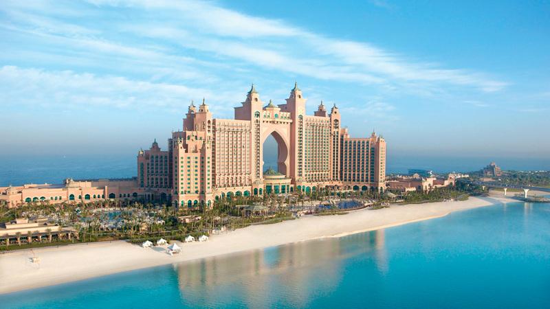 حصة الفنادق الفاخرة في سوق دبي كبيرة مقارنة بالفئات الفندقية الأخرى.  أرشيفية
