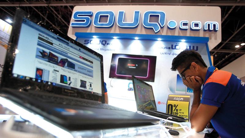 موقع «سوق دوت كوم» تأسس خلال عام 2005 في مدينة دبي للإنترنت. تصوير: باتريك كاستيلو