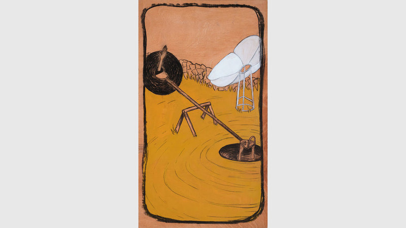 تحرص شيخة الكتبي على تنشيط مهاراتها الإبداعية في الرسم، بعد أن ركزت في السابق على أعمال التصوير الفوتوغرافي والفن التركيبي الخاصة بها. من المصدر