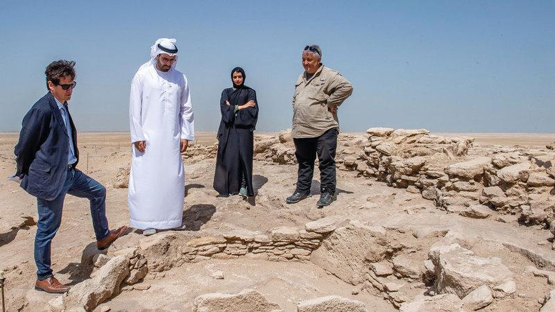 المبارك: التنقيب في الجزيرة يخبرنا بالكثير عن تاريخ أبوظبي والمنطقة. من المصدر