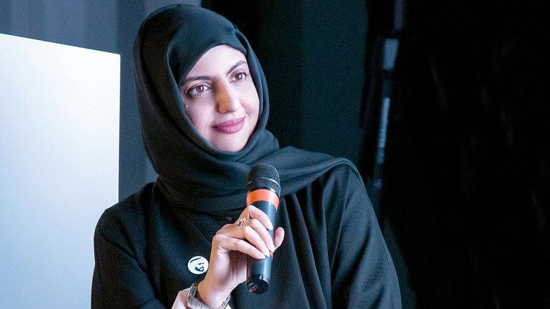 الفنانة الإماراتية مريم البلوشي