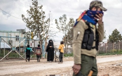 الصورة: «قسد» تلاحق خلايا تنظيم «داعش» شمال شرق سورية