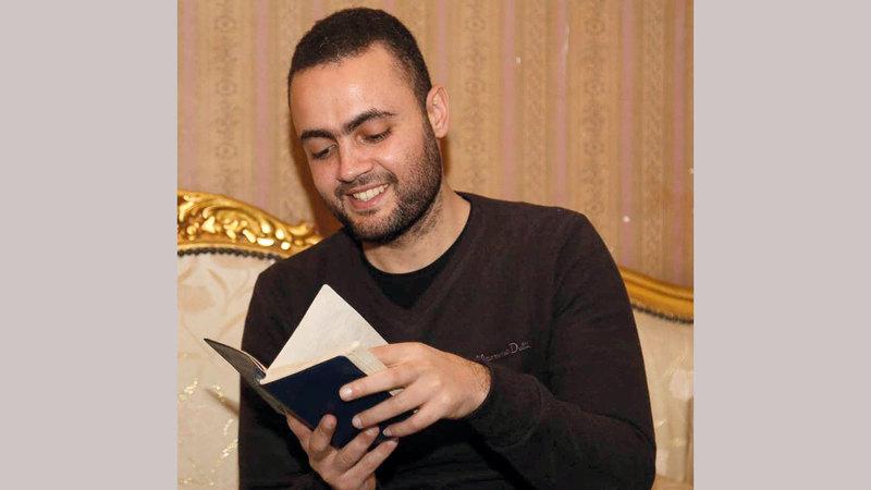 الصحافي محمد الليثي صاحب الكتاب.  أرشيفية