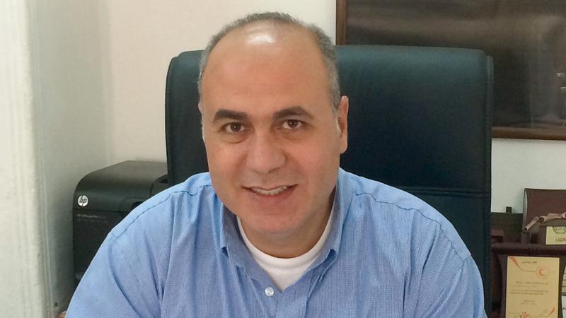 مدير لجنة إعمار الخليل عماد حمدان.  من المصدر