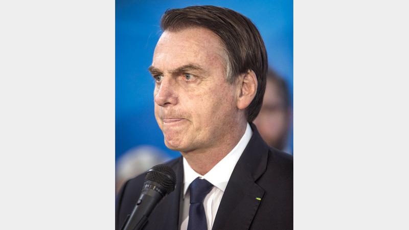 الرئيس البرازيلي تربطه أواصر صداقة مع ترامب، ومن المحتمل أن يتعاونا على مكافحة نشاط «حزب الله». إي.بي.إيه
