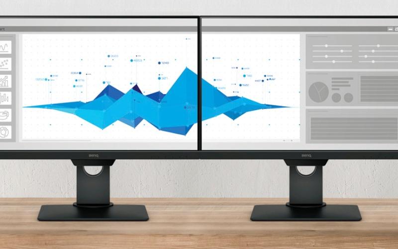 الصورة: «بينكيو» تطلق شاشات جديدة للأعمال المكتبية