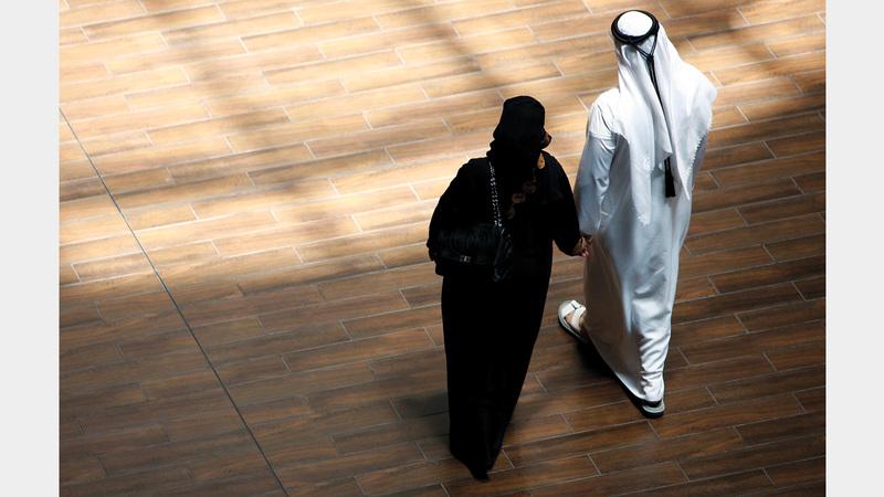 مواطنو دبي يرون أن العدد المناسب للأبناء 5.  أرشيفية
