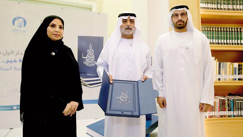 نهيان بن مبارك أكد أن مسيرة الشيخة فاطمة مصدر إلهام لأبناء وبنات الإمارات.  تصوير: إريك أرازاس