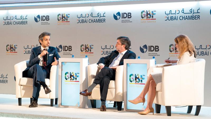 بوعميم: دبي مثال على الحكومات المبتكرة التي استطاعت تعزيز التنافسية الاقتصادية. من المصدر