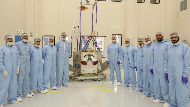 حلقات الوثائقي تبرز المشروعات الإماراتية الواعدة في مجال الفضاء. من المصدر