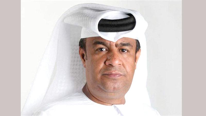 رئيس قنوات أبوظبي الرياضية يعقوب السعدي. من المصدر
