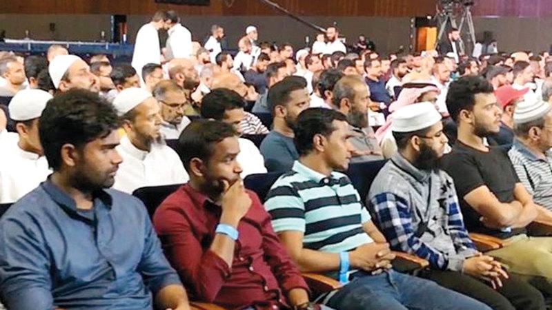 12 ألف شخص من جنسيات مختلفة تابعوا فعاليات المؤتمر.  من المصدر