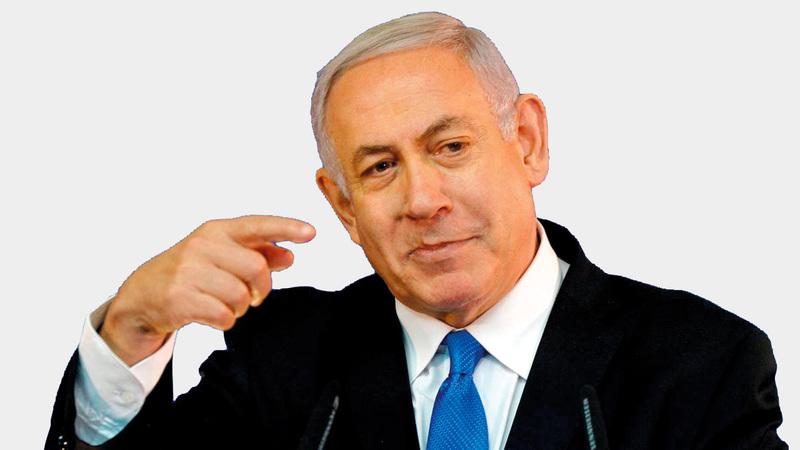 أعلن نتنياهو في مناسبات عدة أن إسرائيل لن تتخلى عن السيطرة الأمنية على جميع الأراضي الواقعة غرب نهر الأردن. أرشيفية