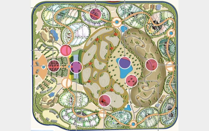 الصورة: غرافيك.. الحديقة القرآنية : مَعْلم حضاري وتعليمي في قلب دبي