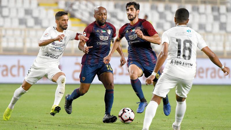 الوحدة خسر أمام النصر 1-2. الإمارات اليوم