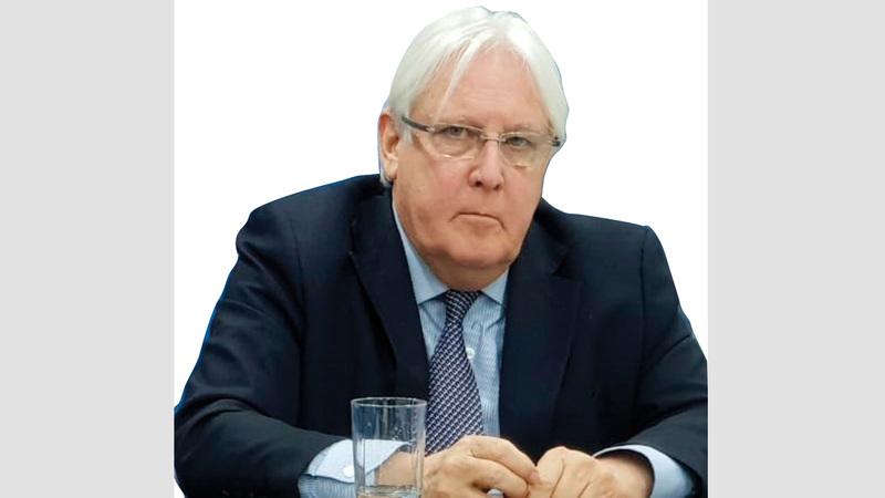 مارتن غريفيث: «الحرب في اليمن لاتزال مستعرة، وعلينا مواصلة العمل، من أجل التوصل لحل سياسي».