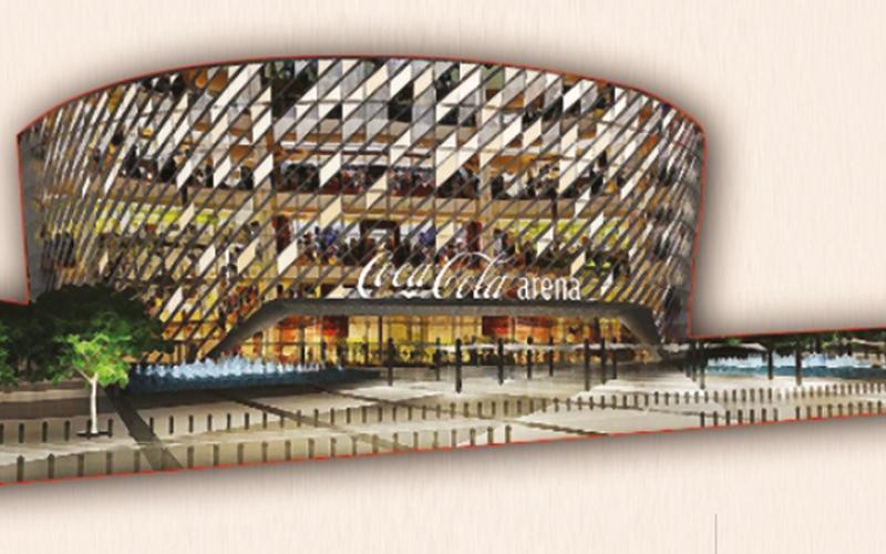 الصورة: غرافيك.. «كوكاكولا أرينا».. أكبر صالة مغطاة متعددة الأغراض في الشرق الأوسط