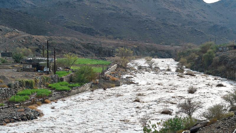 مواقع جريان الأودية تشكّل خطراً على الأفراد أثناء هطول الأمطار. أرشيفية