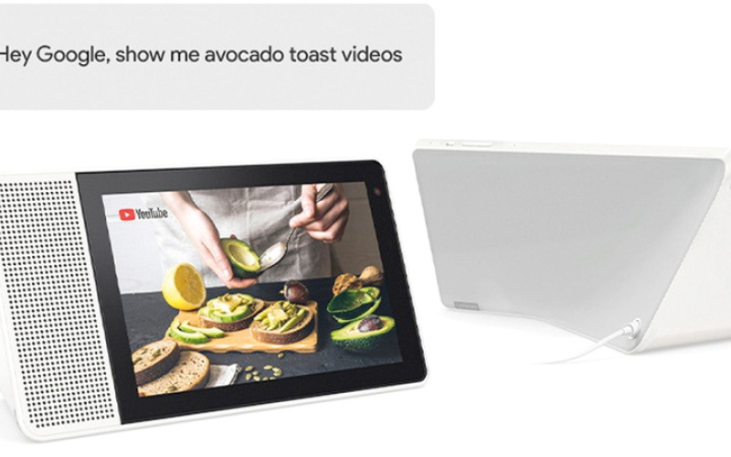 الصورة: «لينوفو» تطلق شاشة للترفيه والتحكم في المنزل الذكي