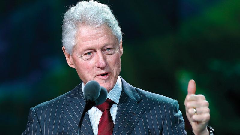الرئيس كلينتون قدم نفسه على أنه يميل إلى الوسط عامي 1992 و1996 ليوسع قاعدة ناخبيه. أرشيفية
