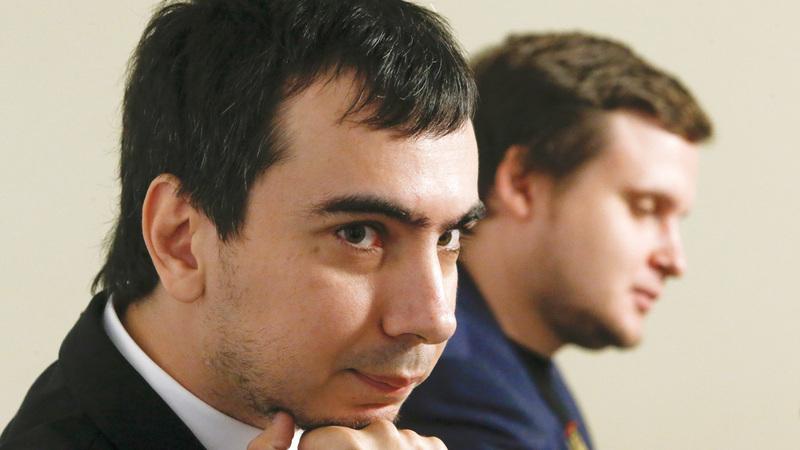 المخادعان الروسيان دبّرا مقلباً ساخناً لماكرون. رويترز