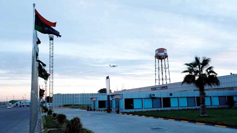 الأميركيون استخدموا مطار معيتيقة 25 عاماً. أرشيفية