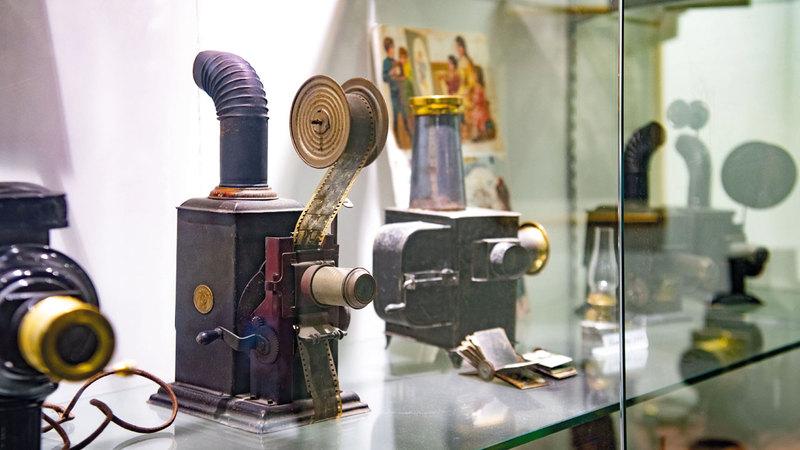 المتحف يضم آلات بالجملة موزعة على أقسام عدة. تصوير: أحمد عرديتي