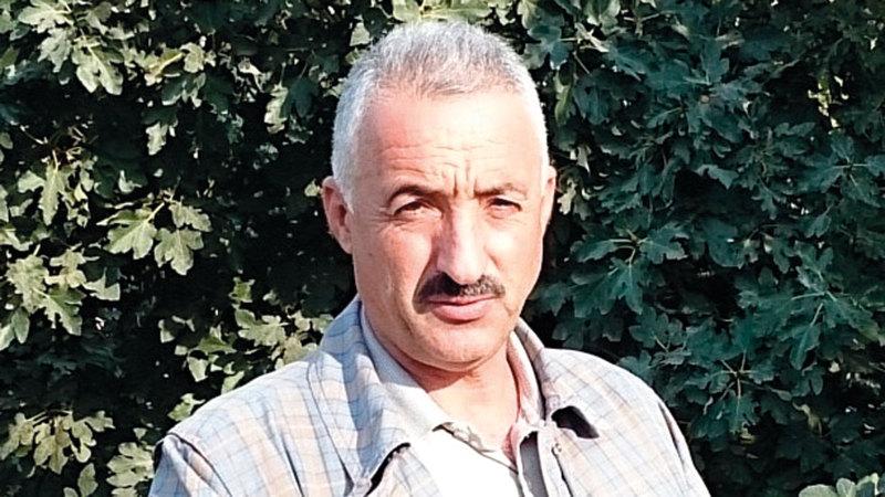 عضو لجنة الدفاع عن أهالي سلوان فخري أبودياب. الإمارات اليوم