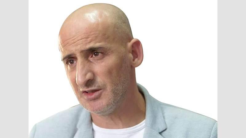 جواد صيام مدير مركز معلومات وادي حلوة - سلوان. الإمارات اليوم