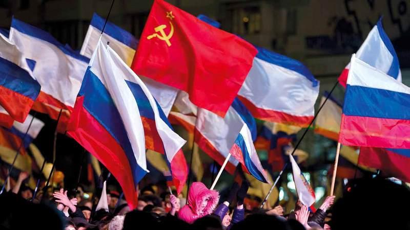 منح الجوازات للمناطق الانفصالية هدفه تعزيز النفوذ الروسي.  أ.ب
