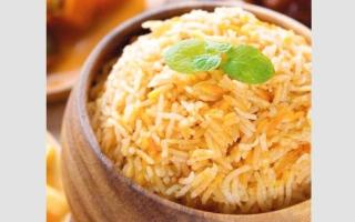 الصورة: أطباق من العالم..أرز الكابلي بالبرتقال