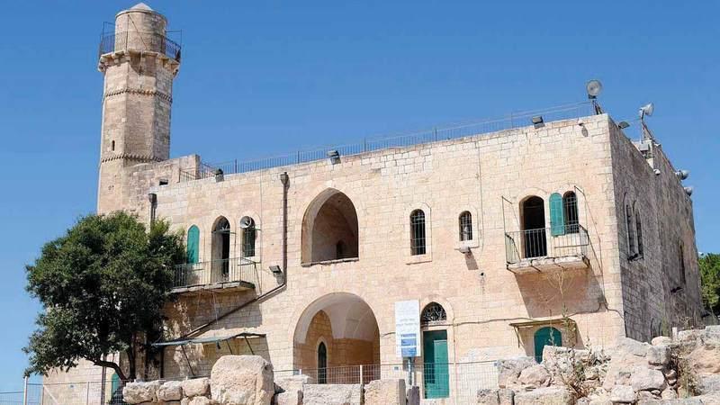 مسجد النبي صموئيل أنشئ في عهد الظاهر بيبرس. الإمارات اليوم