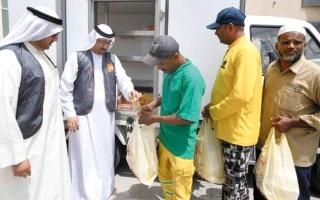 الصورة: «بنك الطعام» يوزّع 8000 طن أغذية منذ 2017