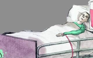 الصورة: «سلطان» يعاني فقر دم حاداً ويحتاج  إلى 14 ألف درهم